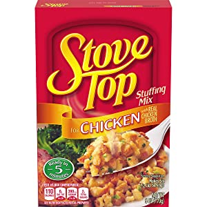 Stove Top Chicken Stuffing Mix (6 oz Boxes, Pack of 12)