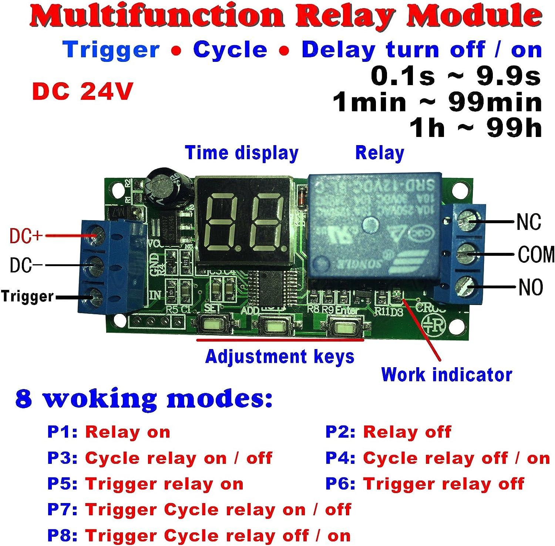 Delay Turn Off Timer Switch Module New DC 12V Relay Delay Delay Turn On