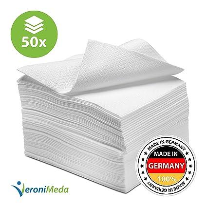 Desechables Toallas de mano de 30 x 40 cm extra absorbente 80 gsm