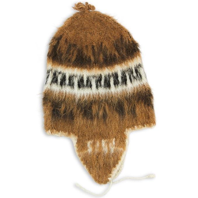 Tumia LAC Alpaca - Gorro de Punto con Tapones para los oídos (Comercio  Justo) 8c3a24c161a