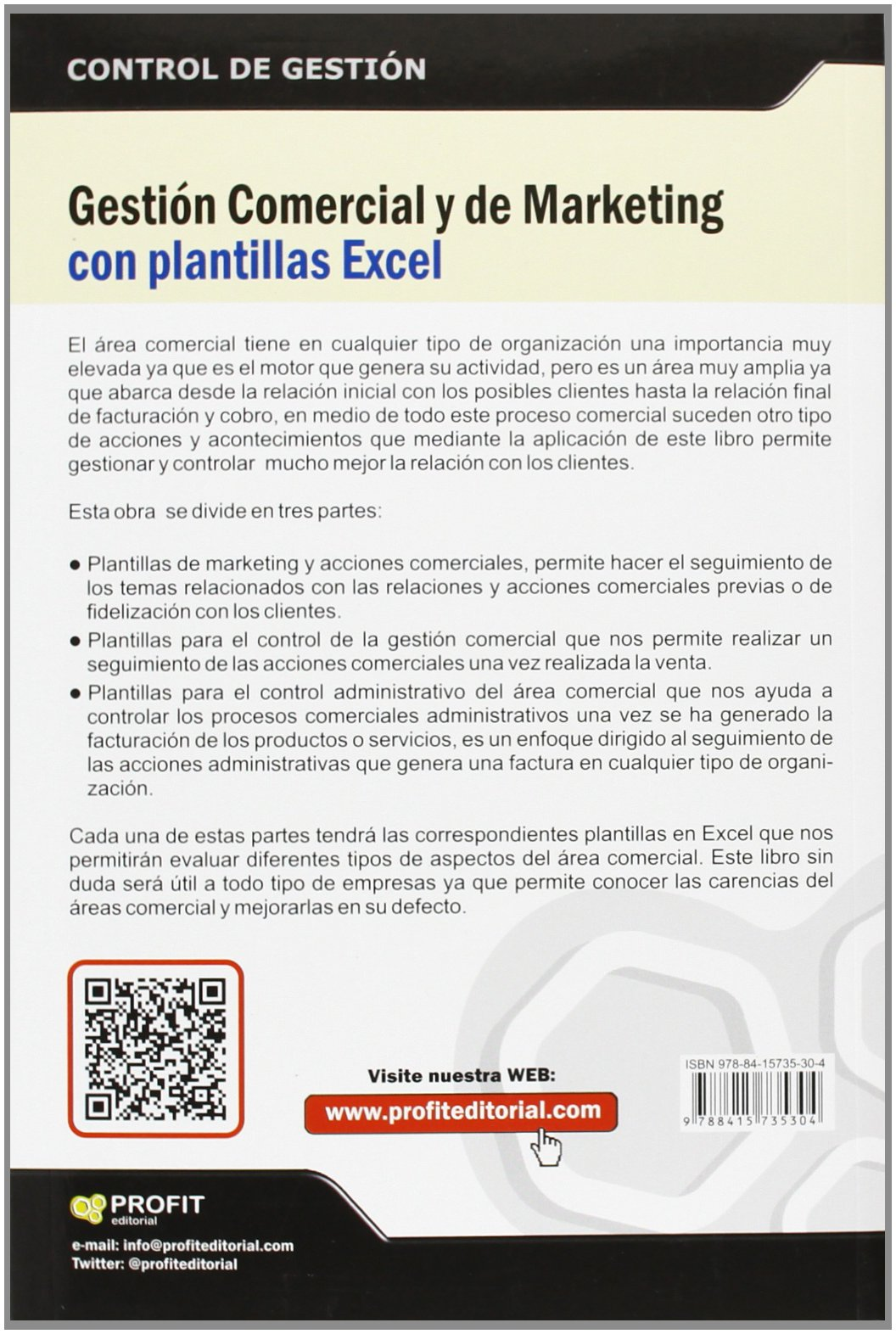 Gestión Comercial Y De Marketing con plantillas Excel: Amazon.es ...