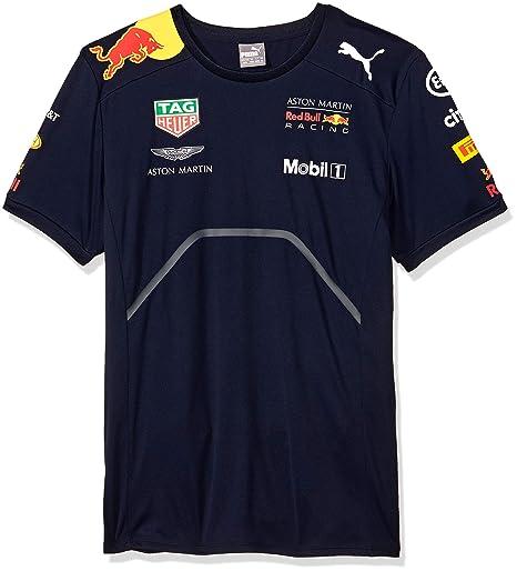 san francisco f9d0e 800a1 Puma RBR Team T-Shirt, Uomo, Uomo, 762350, Blu Mezzanotte,