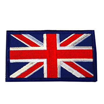 British Union Jack Military Army Badge Cloth Patch Amazon
