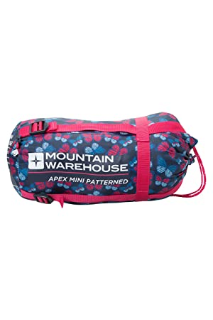 Mountain Warehouse Saco de Dormir Estampado Apex Mini Rosa Talla única: Amazon.es: Deportes y aire libre