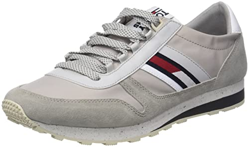 Scarpe da Retro Ginnastica Basse Denim Sneaker Tommy Jeans Hilfiger qWXp4X