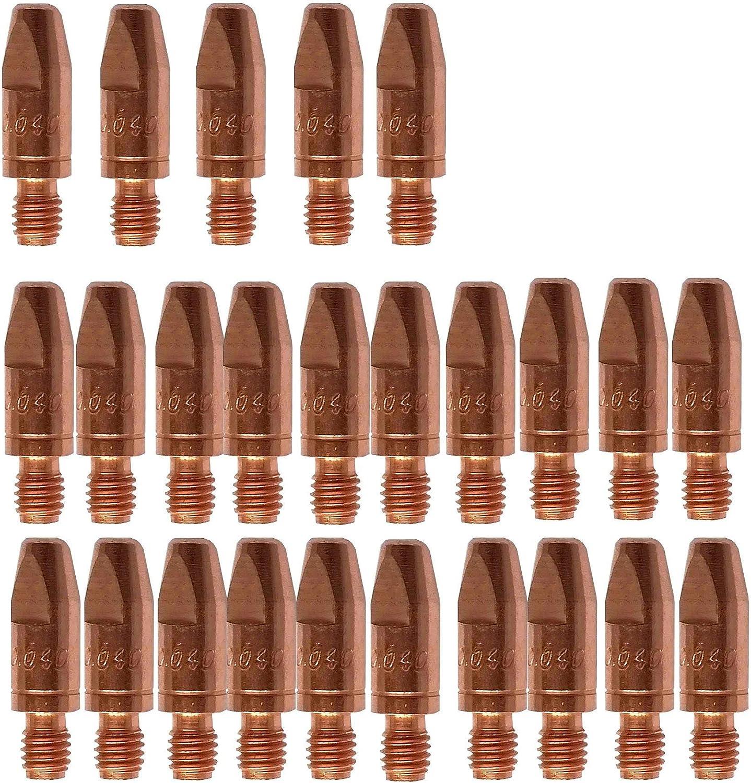 extra langlebig sehr hohe Standfestigkeit Hoffer-Tec Stromd/üse M6 x 28 mm CuCrZr 1,0 mm 25 St/ück PB2505-10 Elektrodenwerkstoff Kupfer-Chrom-Zirkonium