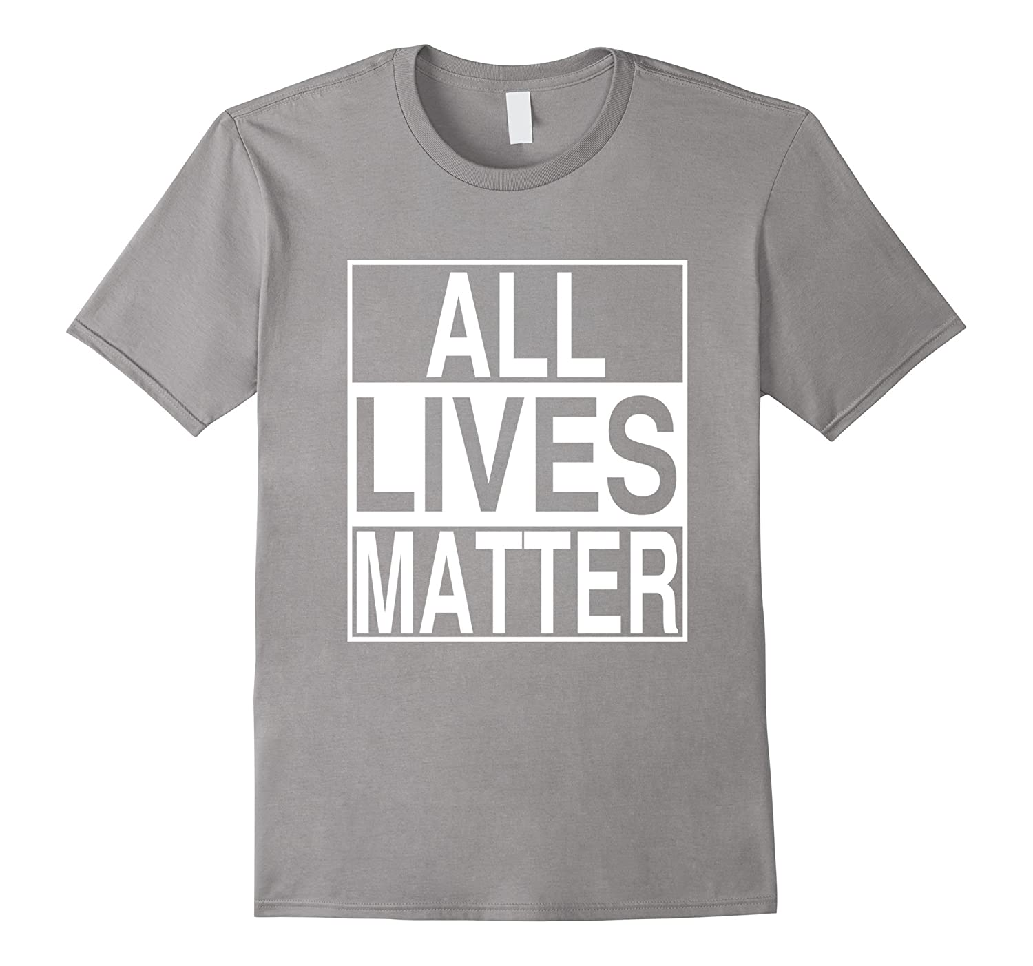 Political Protest T-Shirts - All Lives Matter Tee-RT