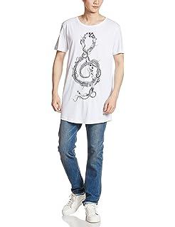 Diesel Motiv T-Shirt T-Longer-B Maglietta RvJe7E2