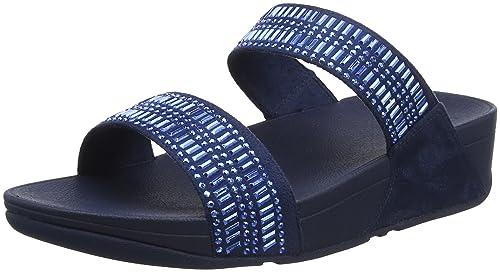 Donna Fitflop Slide Sandali Incastone Punta Amazon Sandals Aperta 4vxPYwgvq