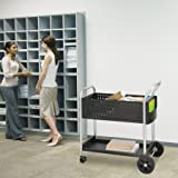 Safco Products Scoot Legal SizeMail Cart 5239BL