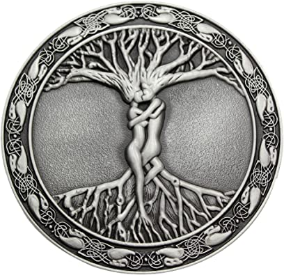 Tree of Life Belt Buckle Three Designs Single or With Belt Quality Metal Biker
