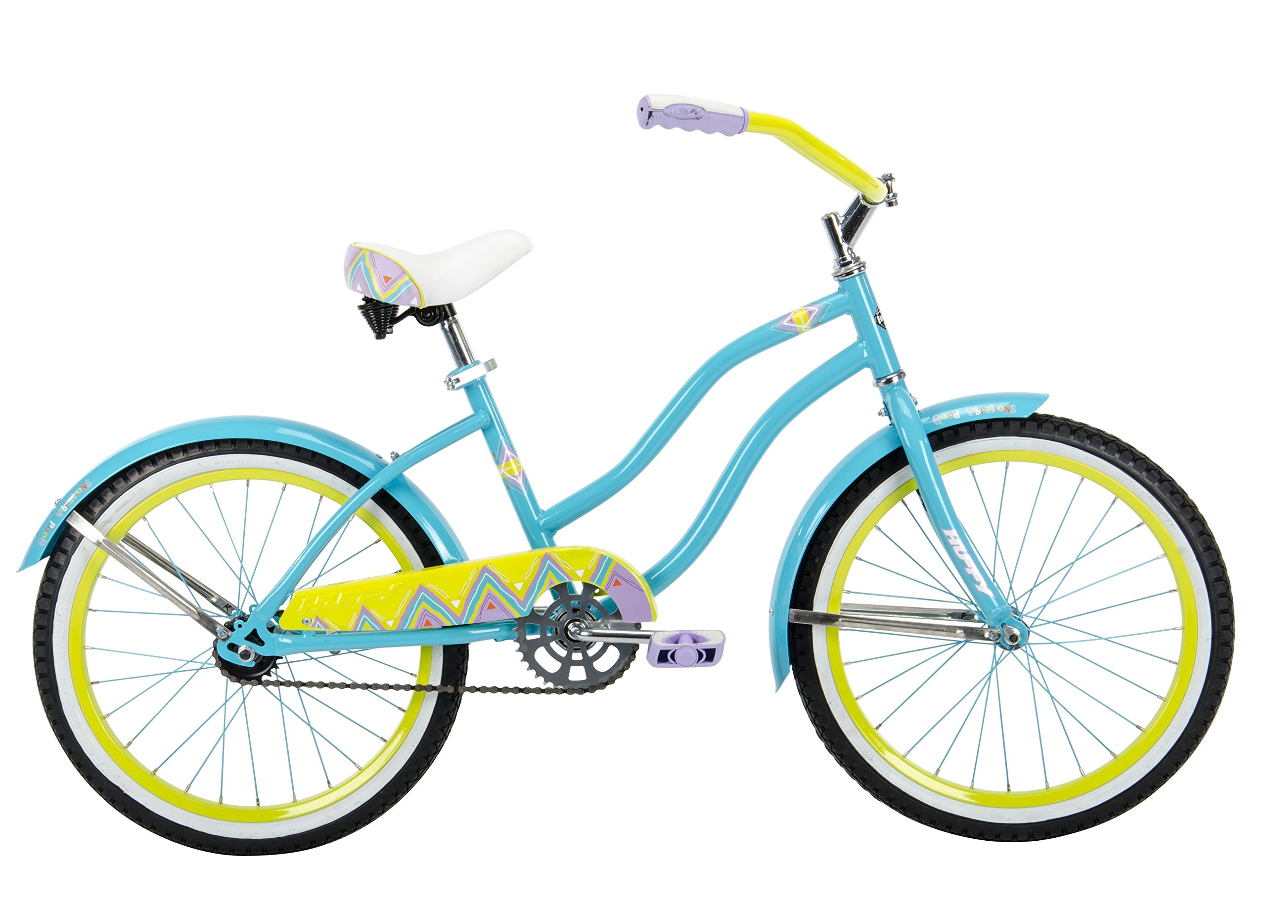 20'' Huffy Good Vibrations Girls' Cruiser Bike by Huffy