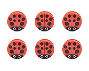 Kikkerland - Ladybug Bag Clips Set Of 6 - BC22