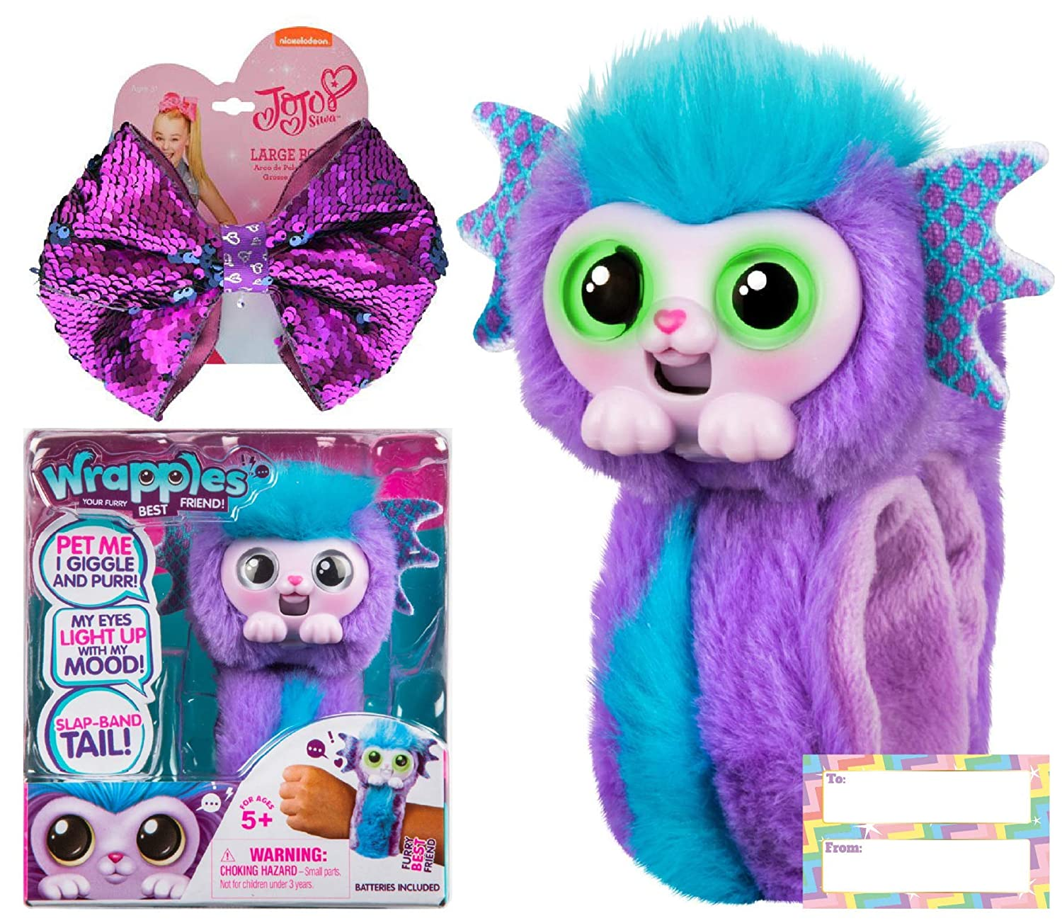 Ropeastar Wrapples JoJo Siwa Gift Set Shora JoJo Siwa Bow