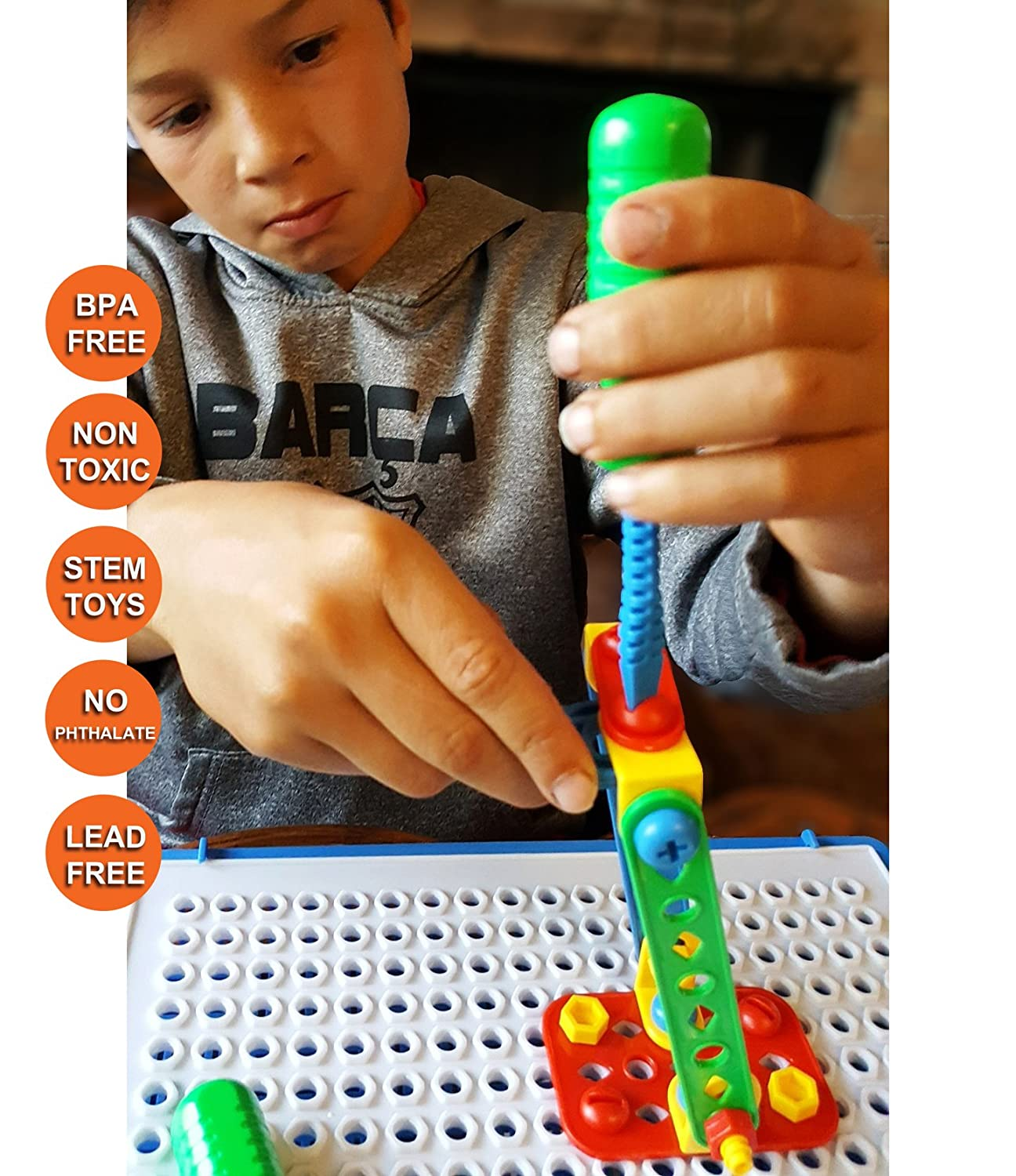 Learning Tinker STEM Toys for Boys & Girls Nuts & Bolts ...