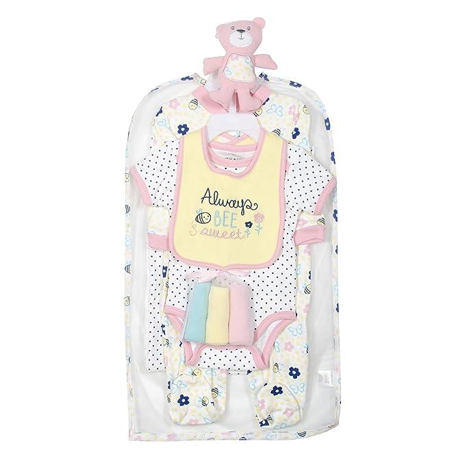 Amazon.com: Cutie Pie Juego de 9 piezas Canastilla de bebé ...