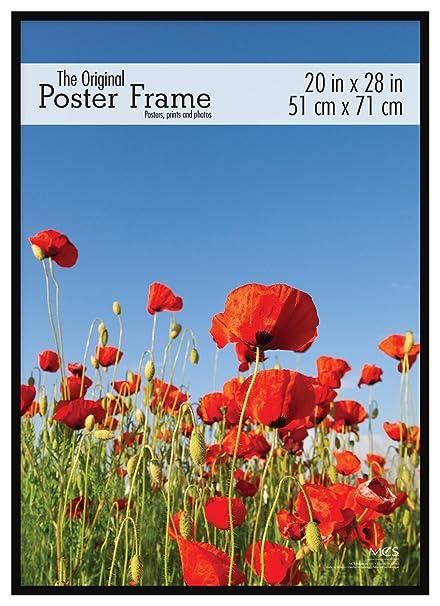 Amazon.com: MCS 20x28 Inch Original Poster Frame, Black (65761 ...