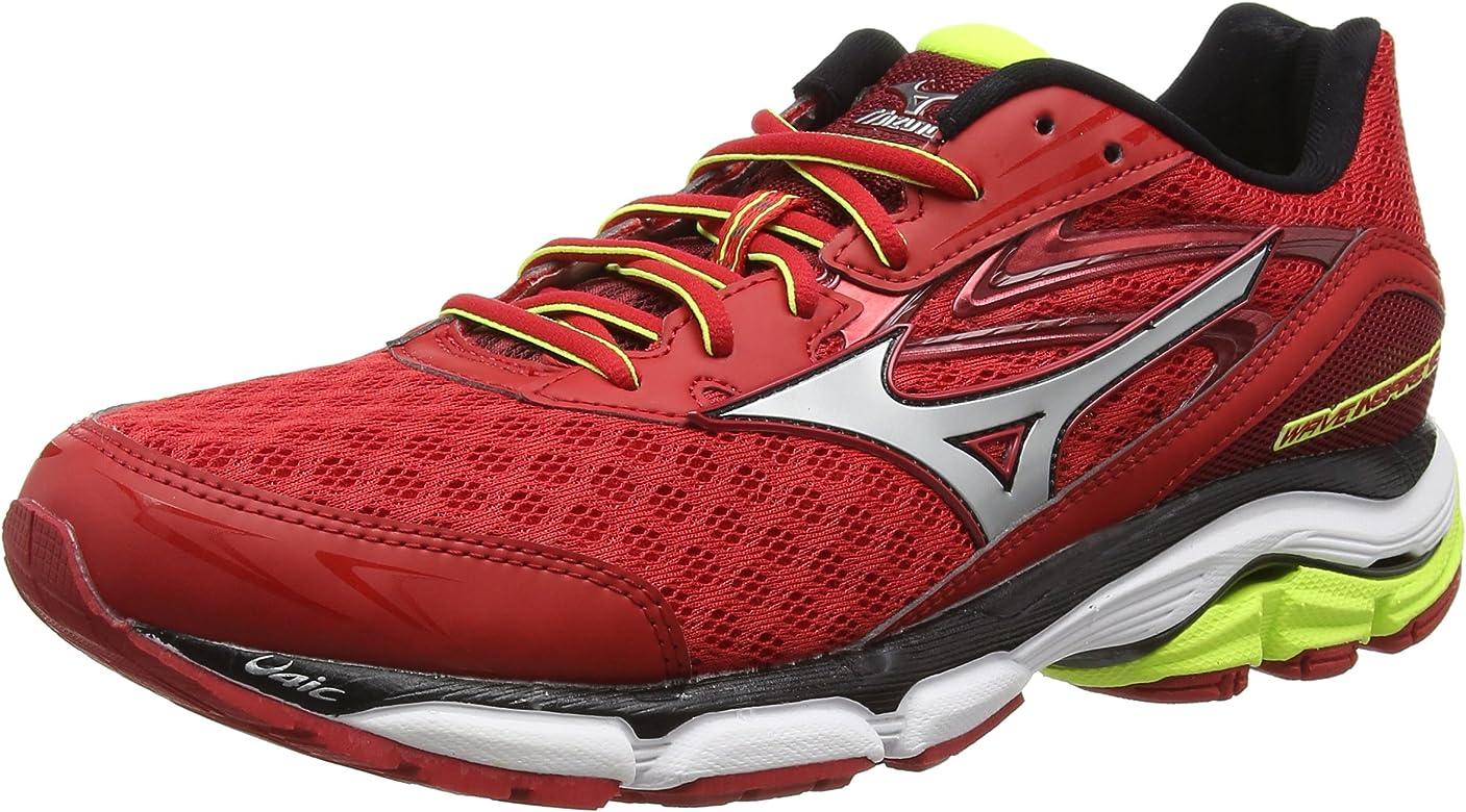 MizunoWave Inspire 12 - Zapatillas de running hombre, color Rojo, talla 50: Amazon.es: Zapatos y complementos