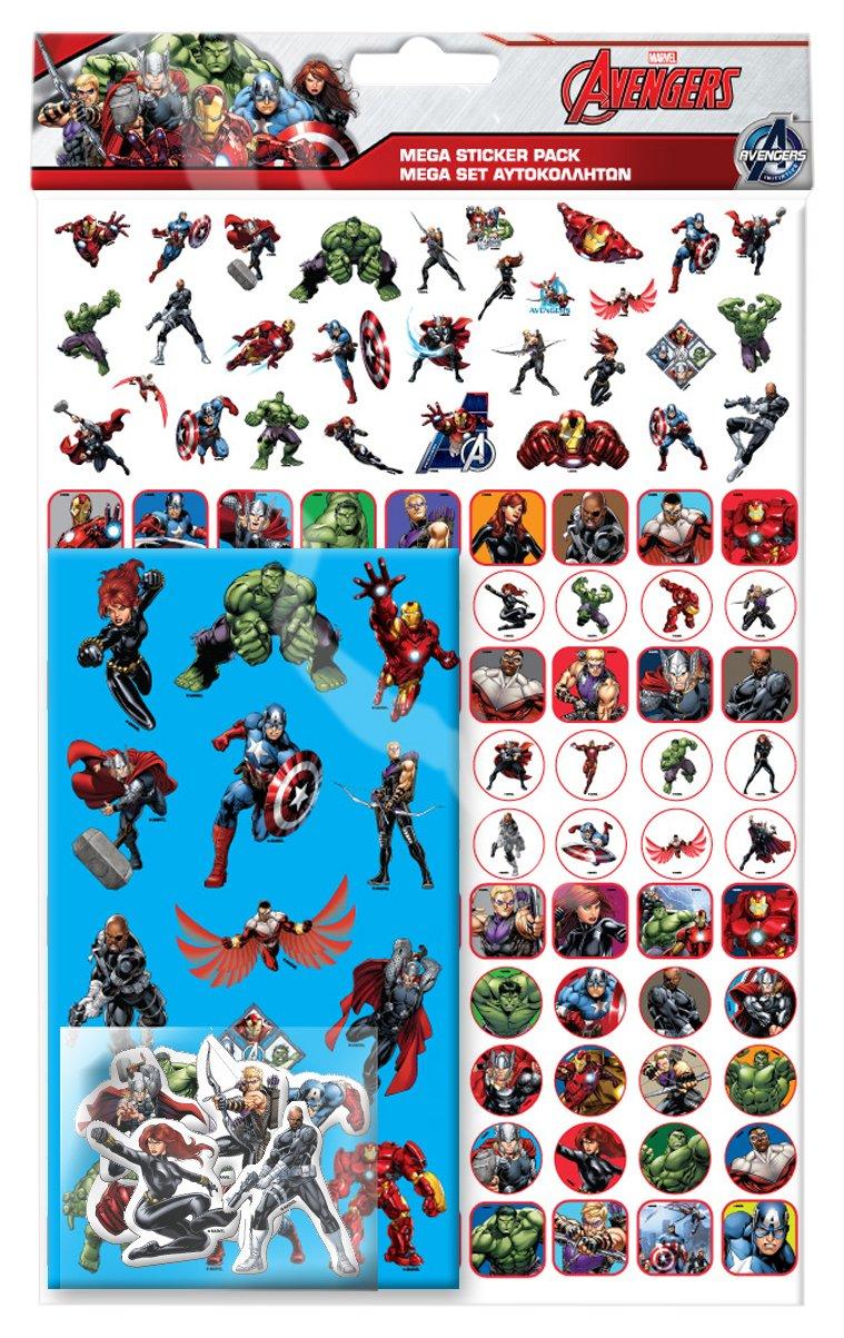 Marvel Avengers Mega Pack Paper Projects Ltd 9091085