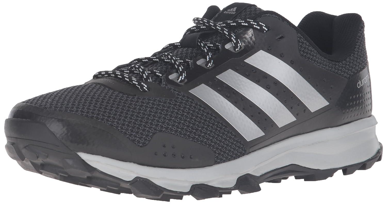 adidas Men's Duramo 7 Trail m Runner, BlackMetallicSilverLight Onix, 10 M US