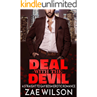 Deal with the Devil: A Straight to Gay BDSM Erotic Romance (One Year of Submission Book 1)