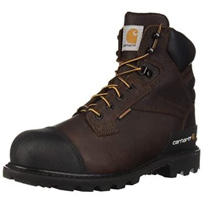 Carhartt Men's CSA 6-inch Wtrprf Insulated Work Boot Steel Safety Toe Cmr6859 Industrial: Shoes