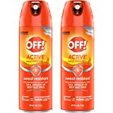 OFF! Active Mosquito Repellent, 6 OZ (Pack of 2)