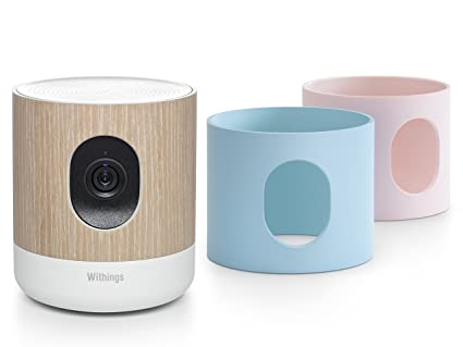 Withings Home - Cámara de vigilancia/vigilabebés conectado rosa/azul