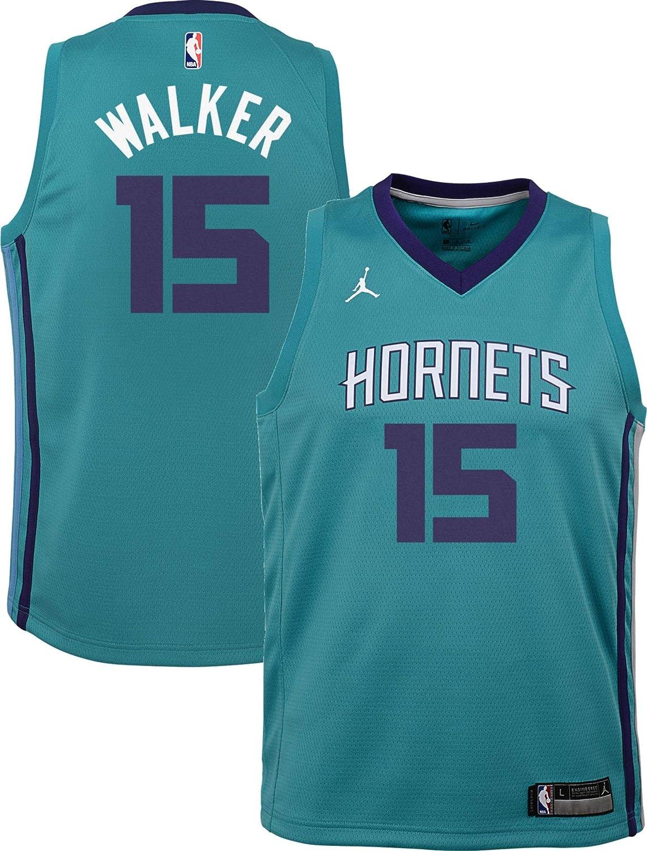 promo code 84b8a f19c2 Amazon.com : Jordan Youth Charlotte Hornets Kemba Walker #15 ...