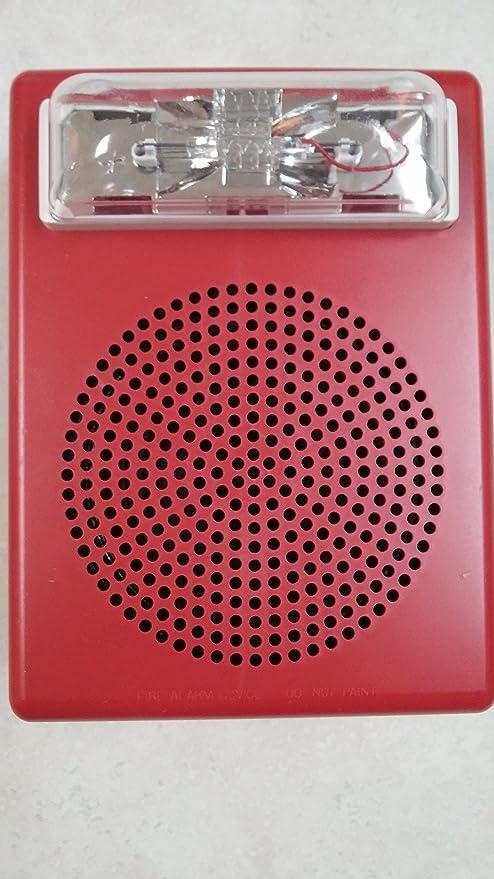 Siemens 500-636025 SE-MC-R Fire Alarm Speaker Strobe ...