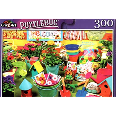 Gardening Time - 300 Pieces Jigsaw Puzzle: Toys & Games