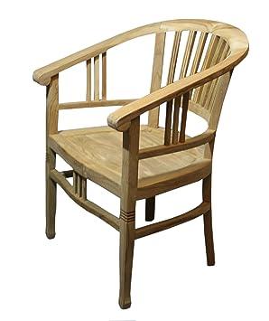 Ambiente reposabrazos de Teca, Silla, sillas de jardín ...