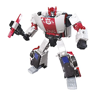 Transformers Toys Generations War for Cybertron Deluxe Wfc-S35 Red Alert Action Figure - Siege Chapter - Adults & Kids Ages 8 & Up, 5: Toys & Games