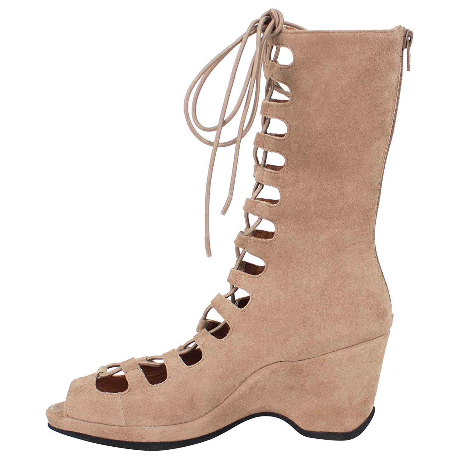 L'Amour des Pieds Women's M Othello B075X4Q9TK 6.5 M Women's US|Taupe Kid Sued 52f8c8