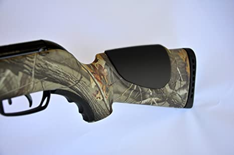 Durable Molded Cheek Rest with Interchangeable Pads for Shotguns and Rifles