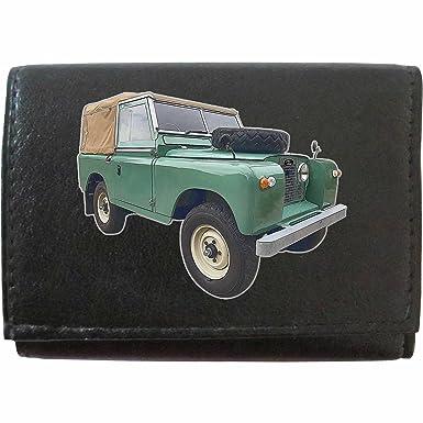 LandRover Series 2 image on KLASSEK Brand Men Leather Wallet Keyring Key rack Car Moto accessory