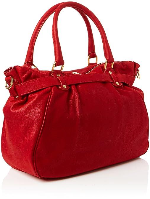 Vanessa Bruno Lune Aime, Womens Cross-Body Bag, Red (Carmin), 15x30x41 cm (W x H L) Vanessa Bruno