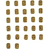 Walnut Hollow Mini Hotstamps Lowercase Alphabet Branding and Personalization Set for Wood, Leather and Other Surfaces, Gold
