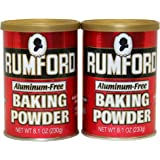 Rumford Aluminum-Free Baking Powder, 2 pk./8.1 oz.