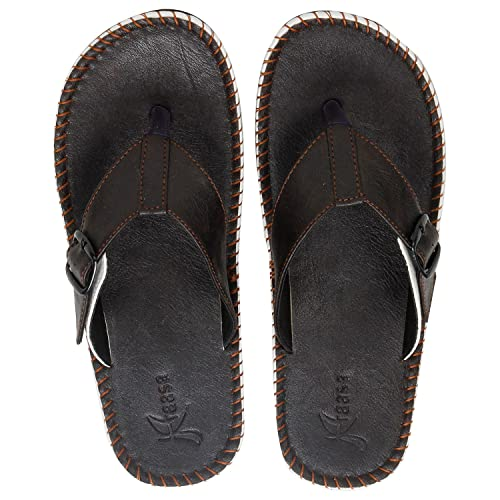 ff2f22357714 Kraasa Men s Synthetic Flip-Flops  Buy Online at Low Prices in India ...