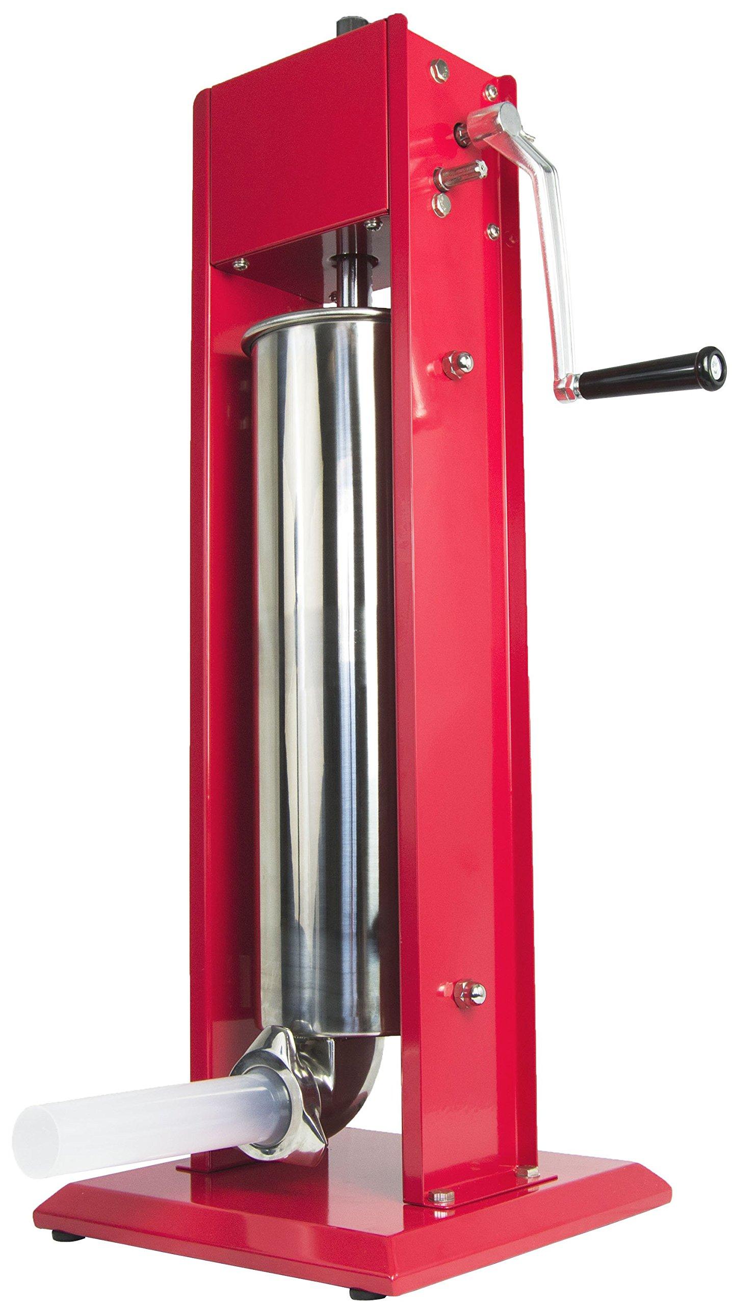 VIVO Sausage Stuffer Vertical 2 Speed Stainless Steel 7L/15lbs 15 Pound Meat Filler (STUFR-V207) by VIVO