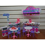 barbie size dollhouse furniture set. Gloria Fast-food Play Set. Barbie Size Dollhouse Furniture Set