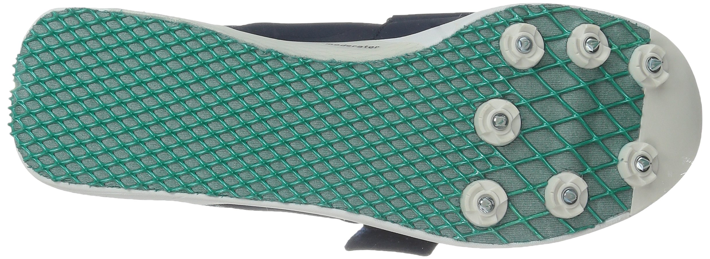 adidas Performance Women's Adizero TJ/PV Running Shoe with Spikes,Collegiate Navy/White/Green,14 M US by adidas (Image #3)