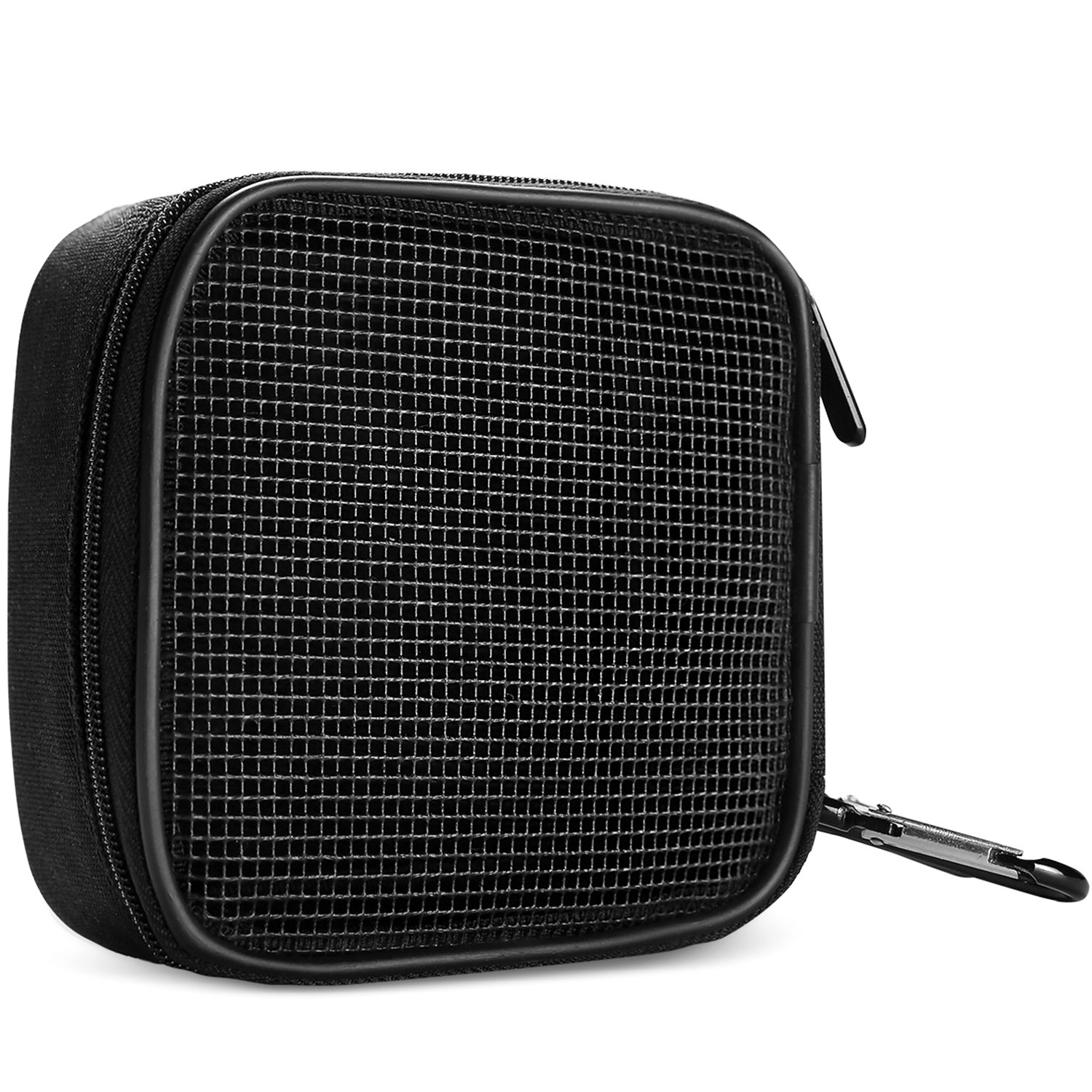 MacBook Power Adapter Bag Accessories Organizer, ProCase Portable Storage Carrying Bag for Apple MacBook Power Supply, Magic Mouse, Earphones and USB Flash Disk –Black