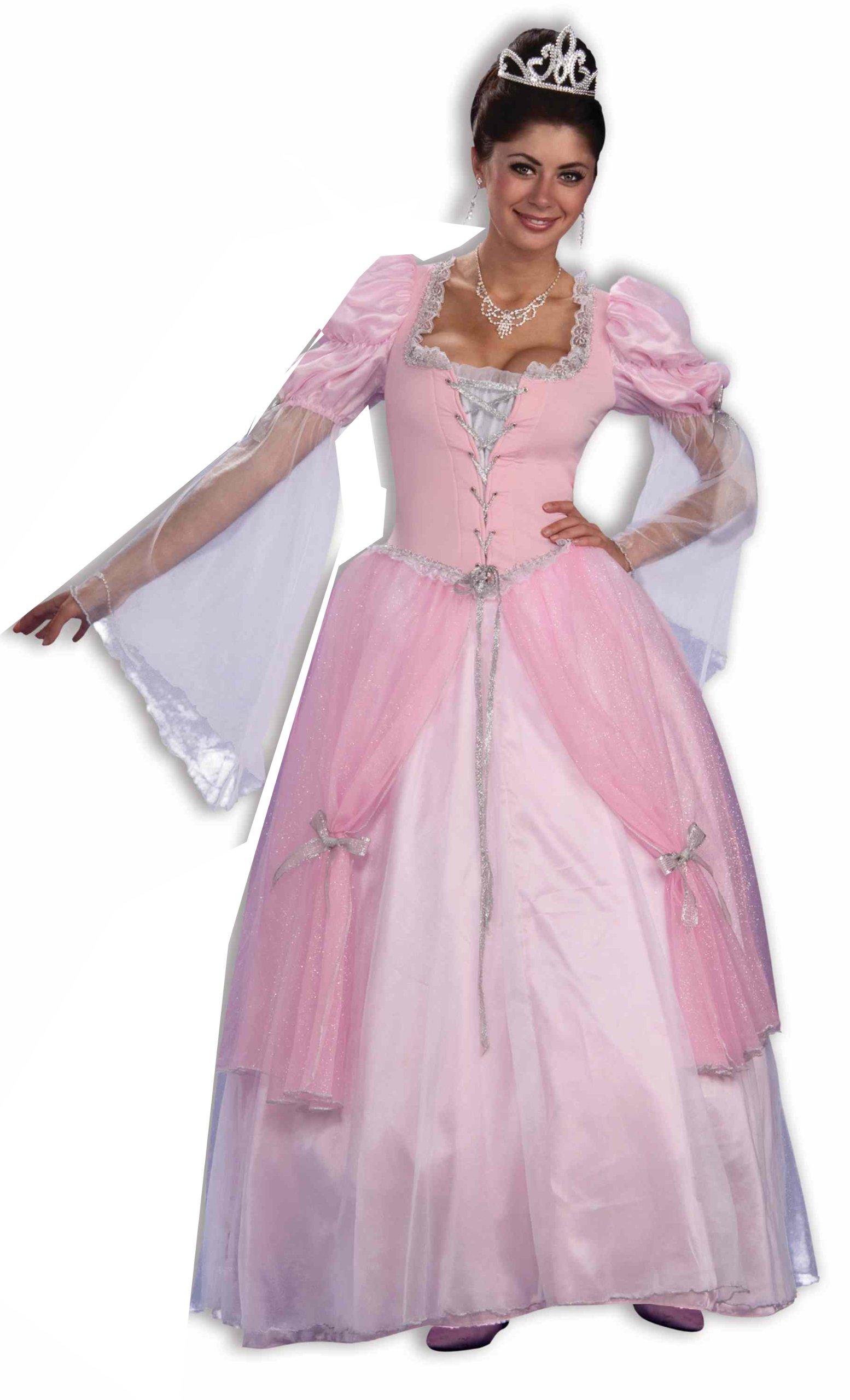 Forum Fairy Tales Fashions Fairy Tale Princess Dress, Pink, Standard Costume