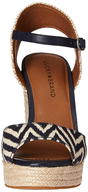 4da7347621f Lucky Brand Women's rosayy Espadrille Wedge Sandal