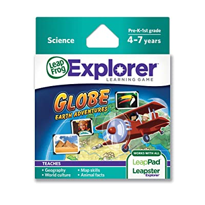 LeapFrog Globe: Earth Adventures Learning Game (works with LeapPad Tablets & LeapsterGS): Toys & Games