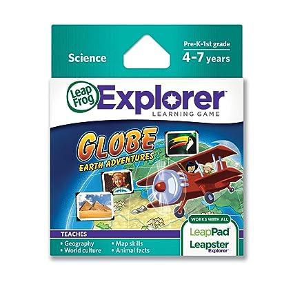 Amazon leapfrog globe earth adventures learning game works leapfrog globe earth adventures learning game works leappad tablets leapstergs gumiabroncs Choice Image