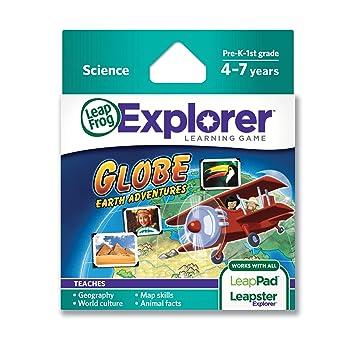 Leapfrog explorer learning game globe earth adventures educational leapfrog explorer learning game globe earth adventures gumiabroncs Images