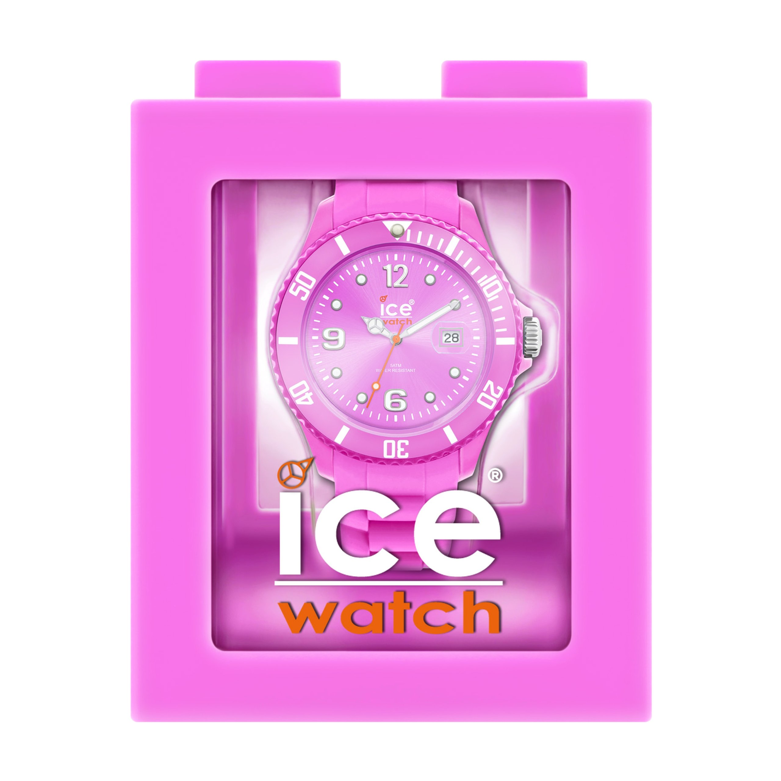 Ice-Watch Silicone Summer Violet Watch with Silicone Strap